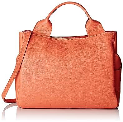 Clarks Women's Talara Star Top-Handle Bag, Orange (Coral Leather), 16x25x41