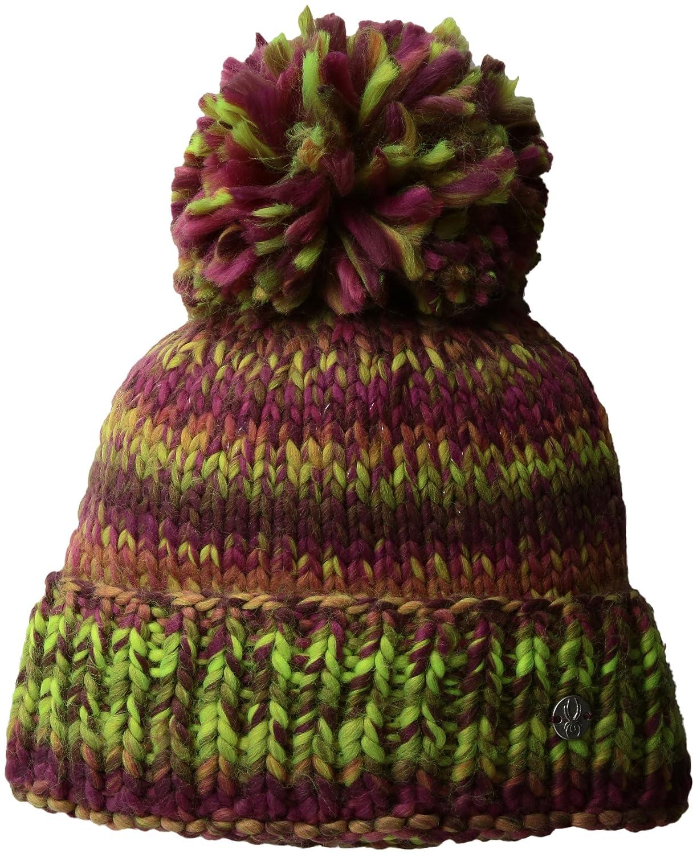 b90b696a3 Amazon.com: Spyder Girl's Twisty Hat, Baltic/French Blue/Raspberry ...