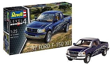Revell- Maqueta 1997 Ford F-150 XLT, Kit Modelo, Escala 1:25 (7045)(07045), 22,9 cm de Largo (
