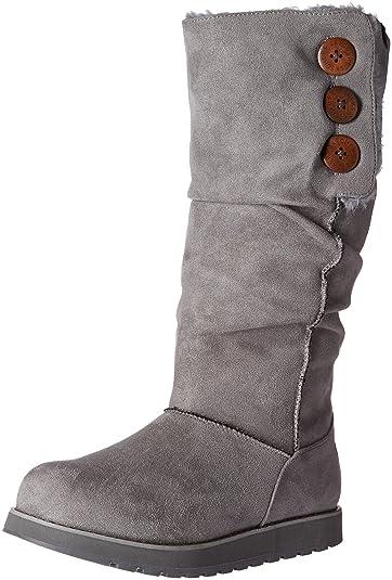 Skechers Women s Keepsakes-Big Button Slouch Tall Winter Boot 9714d1a802