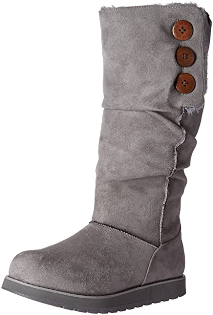c05b8c78556 Skechers Women's Keepsakes-Big Button Slouch Tall Winter Boot
