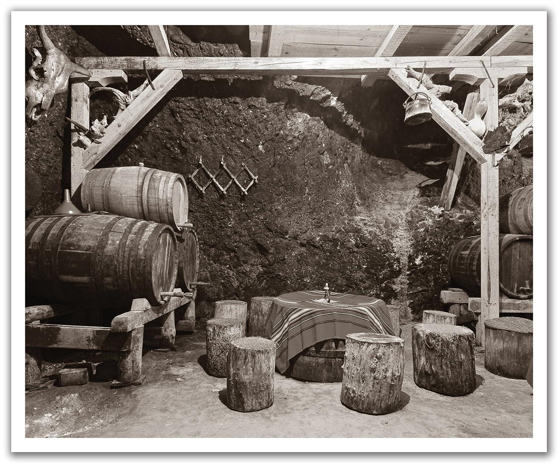 24-Inch x 19.75-Inch JP London POSLT2219 uStrip Lite Removable Wall Decal Mural Bootlegging Wine Cellar Black White Bordeaux