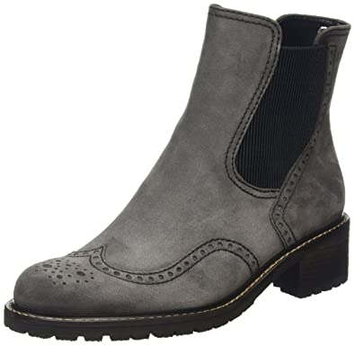Gabor Shoes Comfort Sport, Bottes Femme, (39 Dark-Grey Micro), 38.5 EU