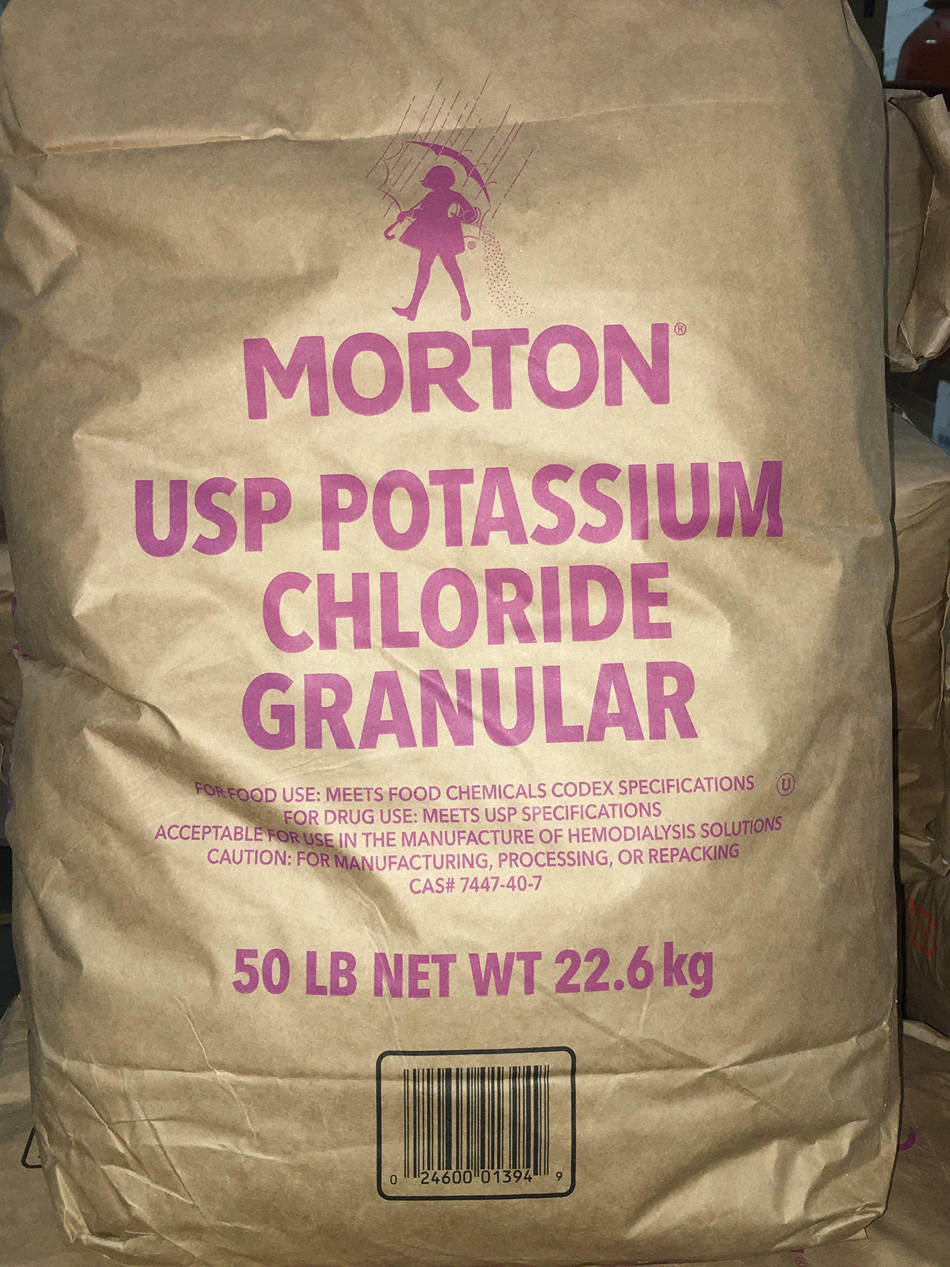 Potassium Chloride ''KCl'' FOOD GRADE (0-0-60) Minimum 99% purity! 50LB BAG! by JJChemicals (Image #1)