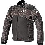 Jaqueta masculina de motocicleta Hyper Drystar da Alpinestars, preta/vermelha, 3GG