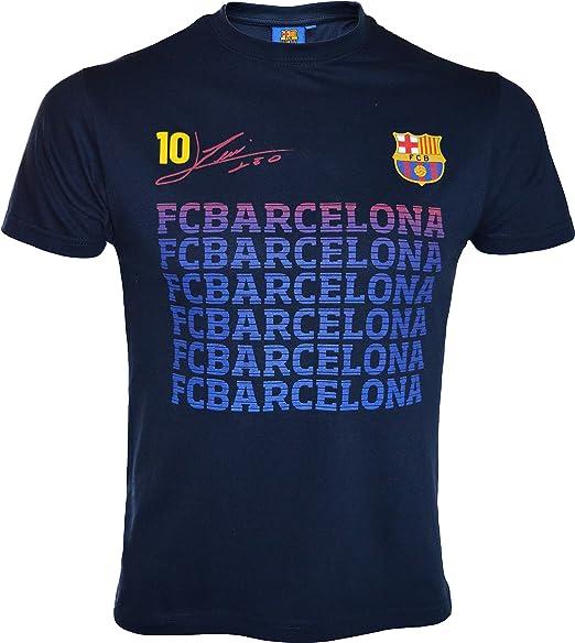 Camiseta Lionel Messi – N ° 10 – FC Barcelone – Talla de Niño ...