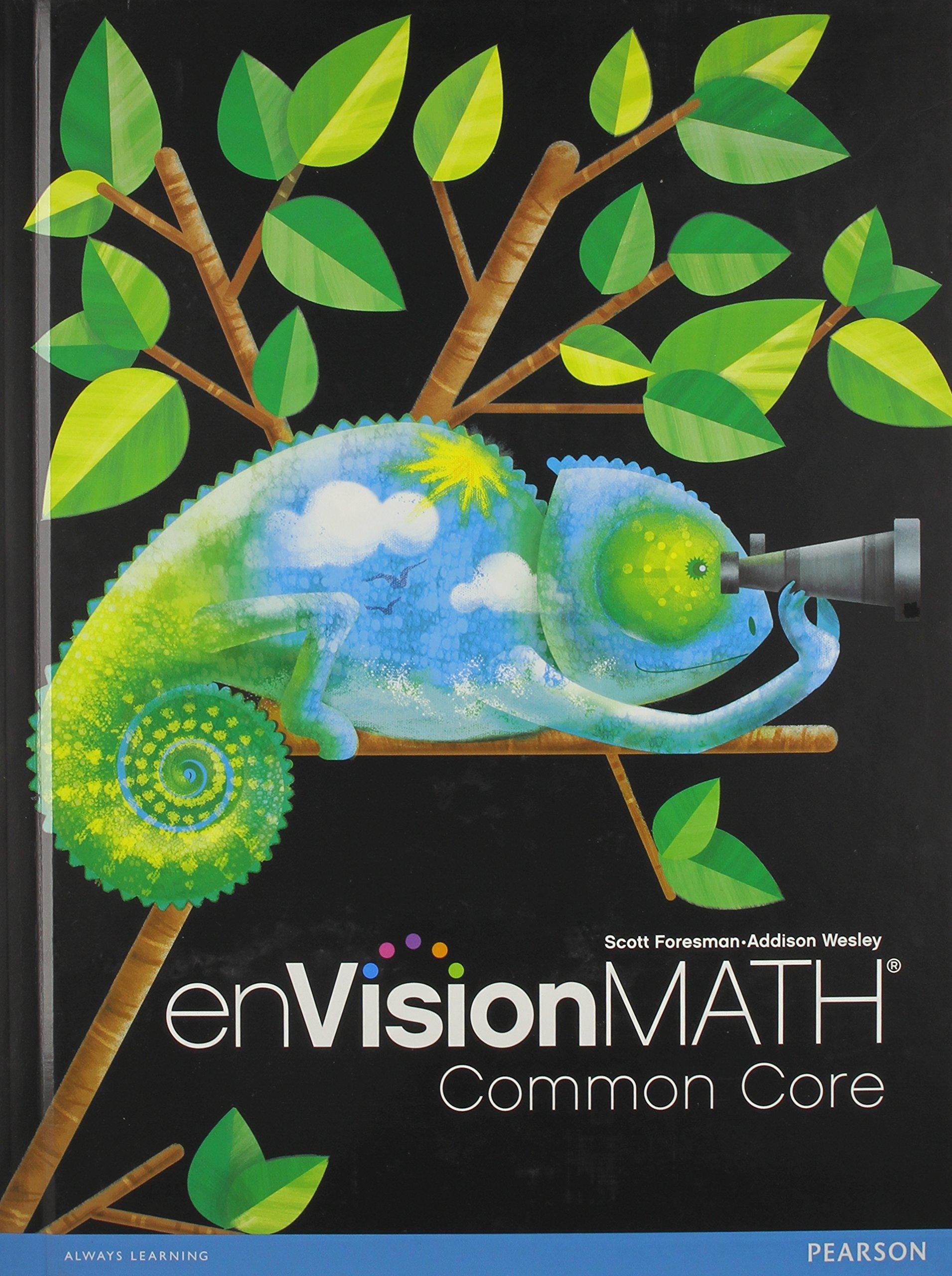 Amazon Envision Math Common Core Grade 4 9780328672622