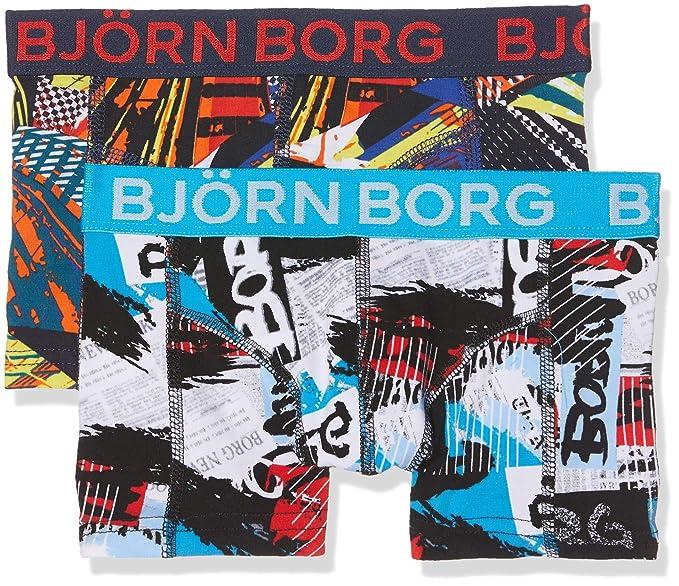 erkende merken jongen goedkoop worden Amazon.com: Bjorn Borg 2-Pack NY Times & Skyscrapers Boys ...