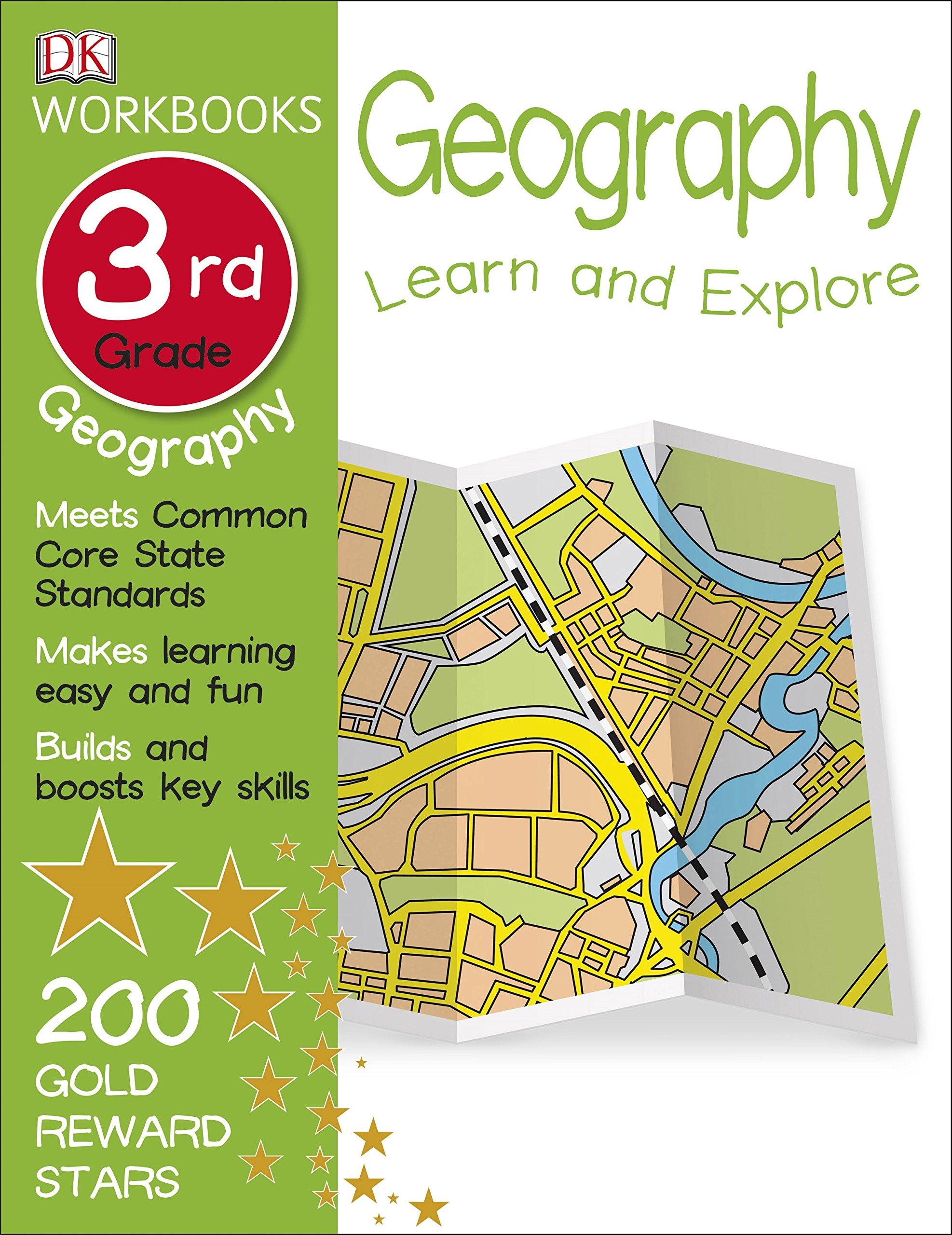 DK Workbooks: Geography, Third Grade: DK: 0790778028497: Amazon.com ...