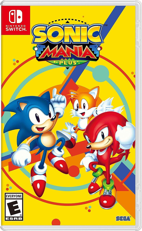 Amazon com: Sonic Mania Plus - Nintendo Switch: Sega of