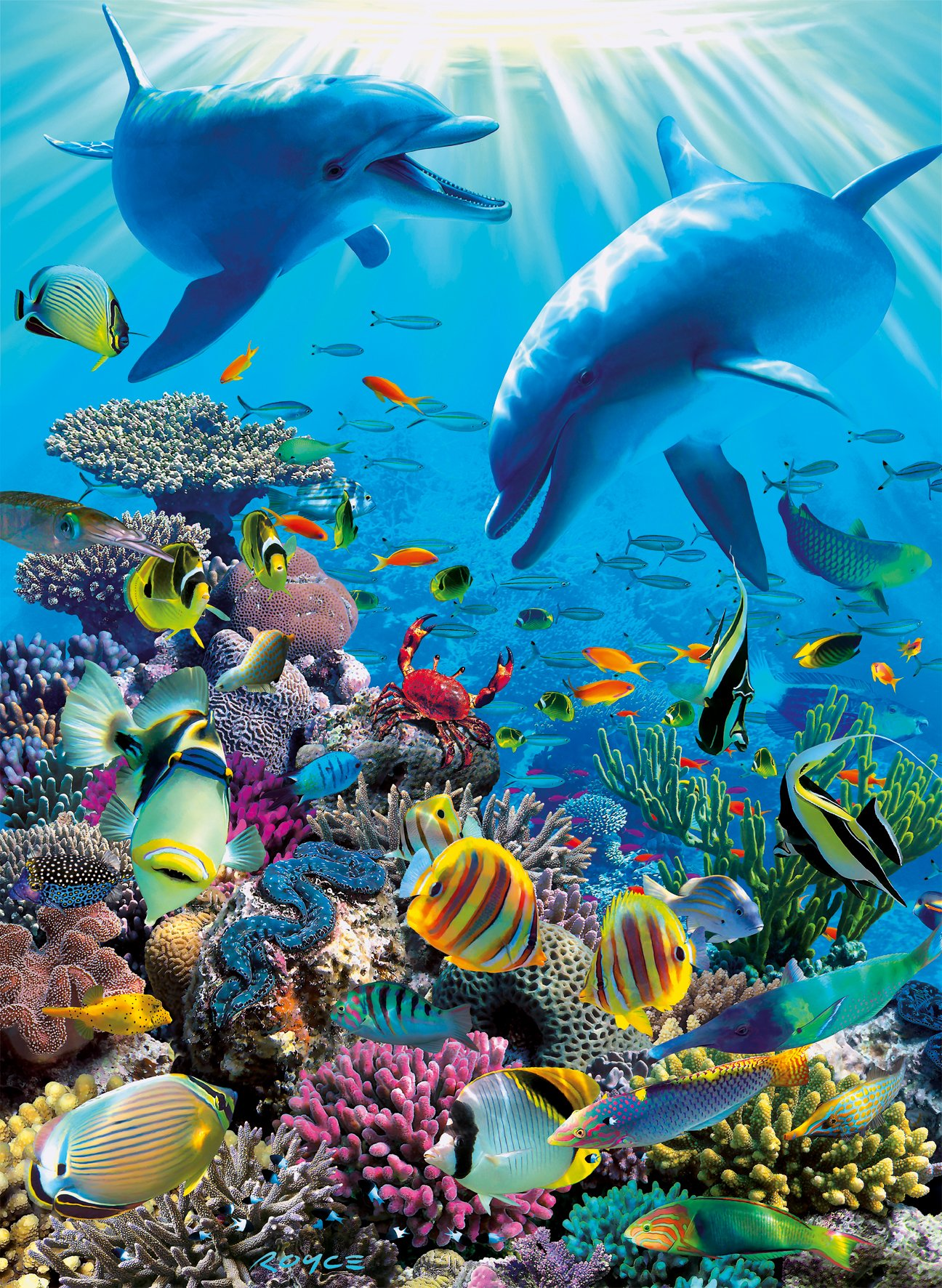 Ravensburger Underwater Adventure 300 Piece Jigsaw Puzzle for Kids – Every Piece is Unique, Pieces Fit Together Perfectly