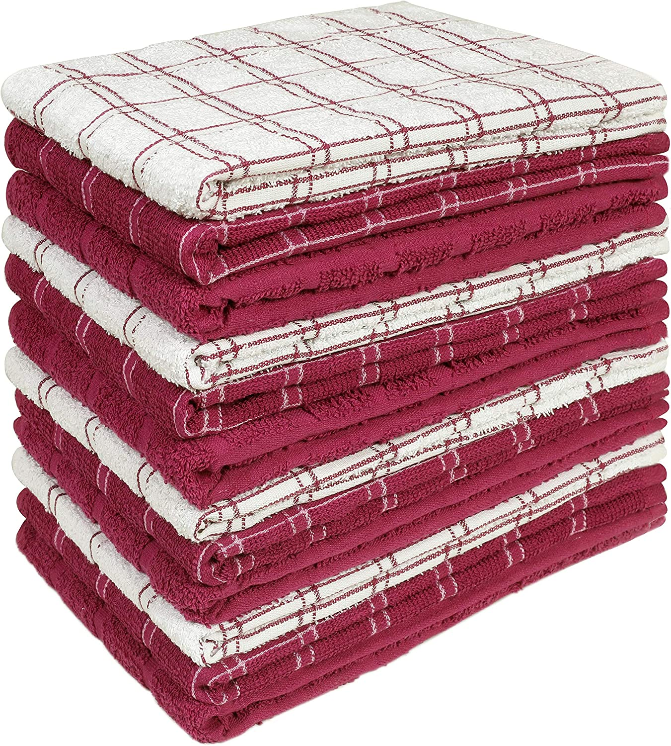 HOME LABELS TRANSFORM YOUR LIVING Kitchen Towel 12 Pack, 15