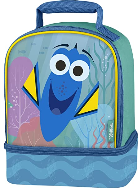Amazon.com  Thermos Dual Lunch Kit, Finding Dory  Kitchen   Dining 3d18aca4af