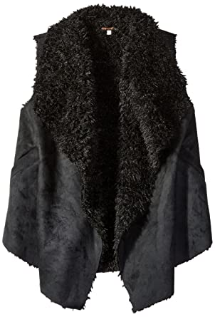 1f8a1c605cac Amazon.com  Ella Moss Girls Slim Size Cami Faux Suede Vest