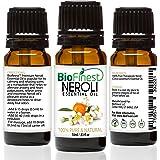 Biofinest Néroli Huile essentielle–100% Pure pur–Premium Bio–Qualité thérapeutique–aromathérapie–Antioxydant–Aide à réparer la peau–Le meilleur pour soulager le stress–gratuit e-book