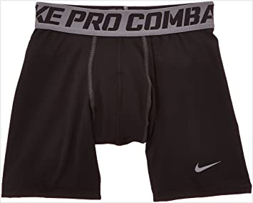 Nike Pro Core Compression Short Garçon Black/Cool Grey FR : S (Taille  Fabricant