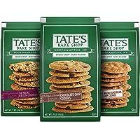 Tate's Bake Shop Cookies Variety Pack, Oatmeal Raisin Cookies, Chocolate Chip Cookies & Chocolate Chip Walnut Cookies, 3…