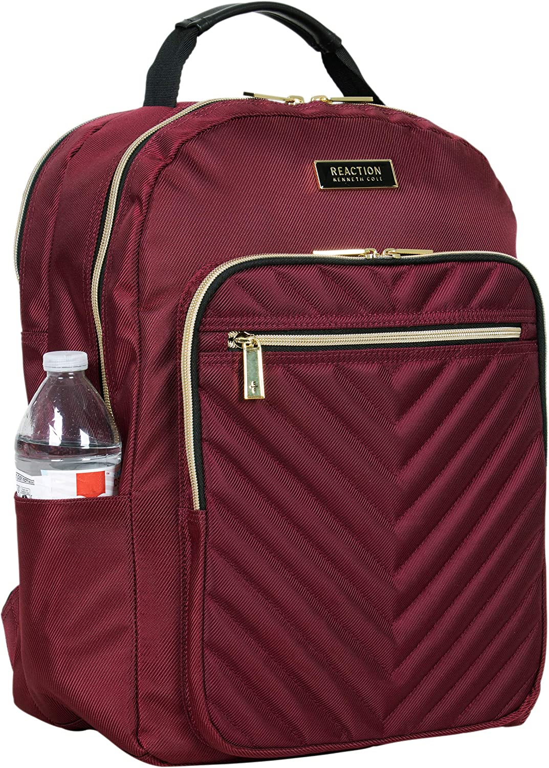 Kenneth Cole Reaction Chelsea Womens Chevron Quilted 15-Inch Laptop /& Tablet Fashion Travel Backpack
