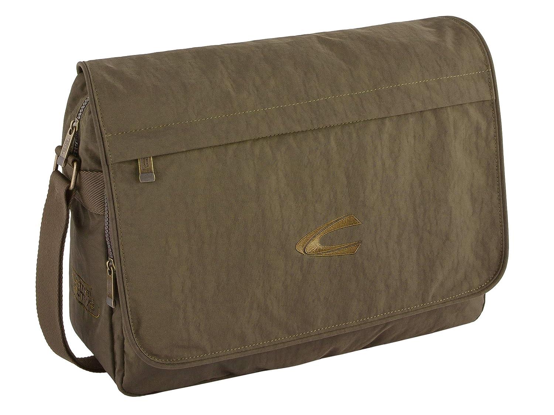 camel active Messenger Bag B00 Journey Umhängetasche, 39 cm, braun B00 915 20