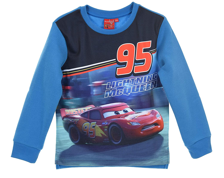 Disney Cars Bambino Maglietta a Maniche Lunga