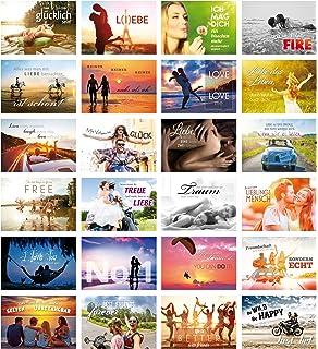 20 Hochwertige Karten Liebe Postkarten Zum Hochzeitstag Jahrestag