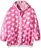 Hatley Girls' Pink Hearts Wind Breaker