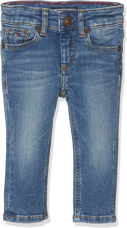 Tommy Hilfiger Boys Scanton Slim Nyms Jeans para Niños