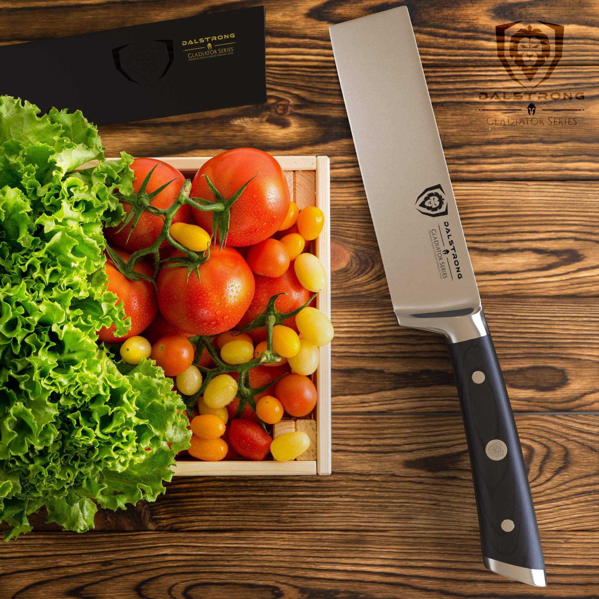 DALSTRONG Produce Knife - Gladiator Series - German HC Steel - 6'' -w/Sheath by Dalstrong (Image #4)