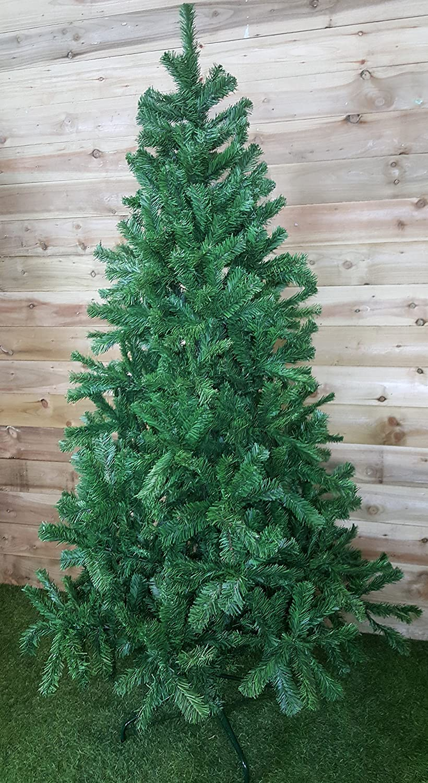 Slim Green Colorado Spruce Artificial Christmas Tree (2.1m / 7ft ...
