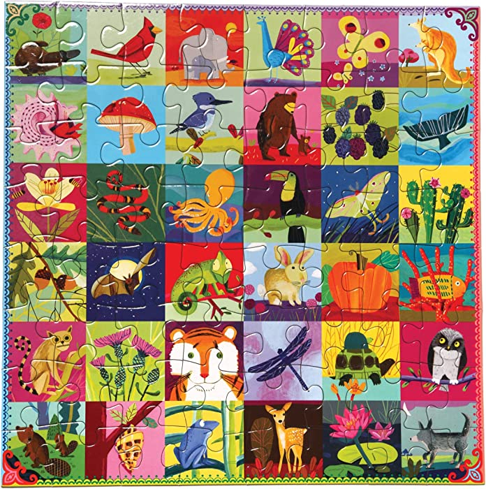 The Best Eeboo Garden North American Animals Puzzle