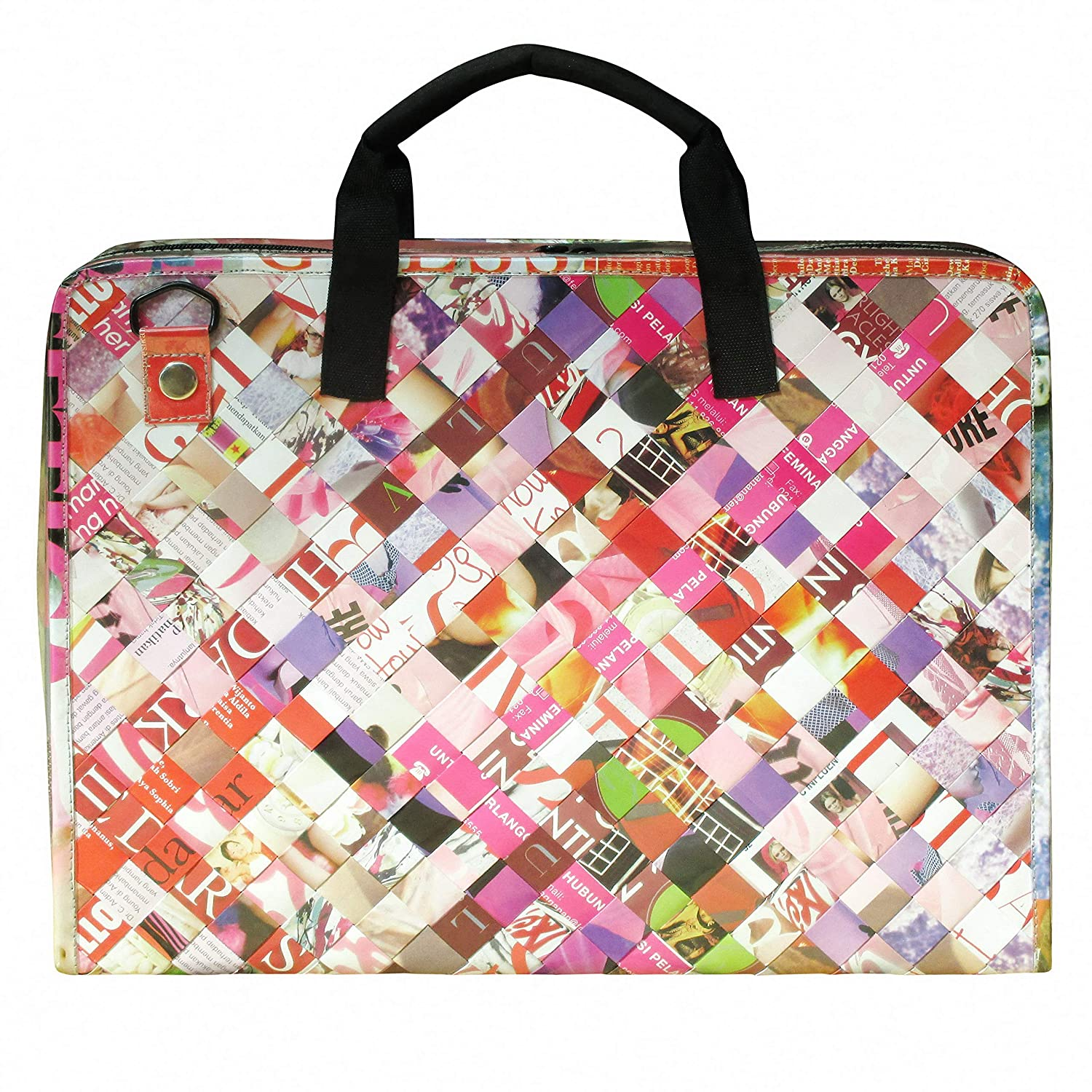 4838a80723 Amazon.com  LAPTOP briefcase made of magazine paper
