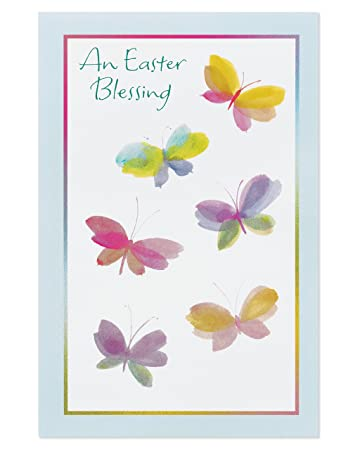 amazon com american greetings religious blessing easter card 6