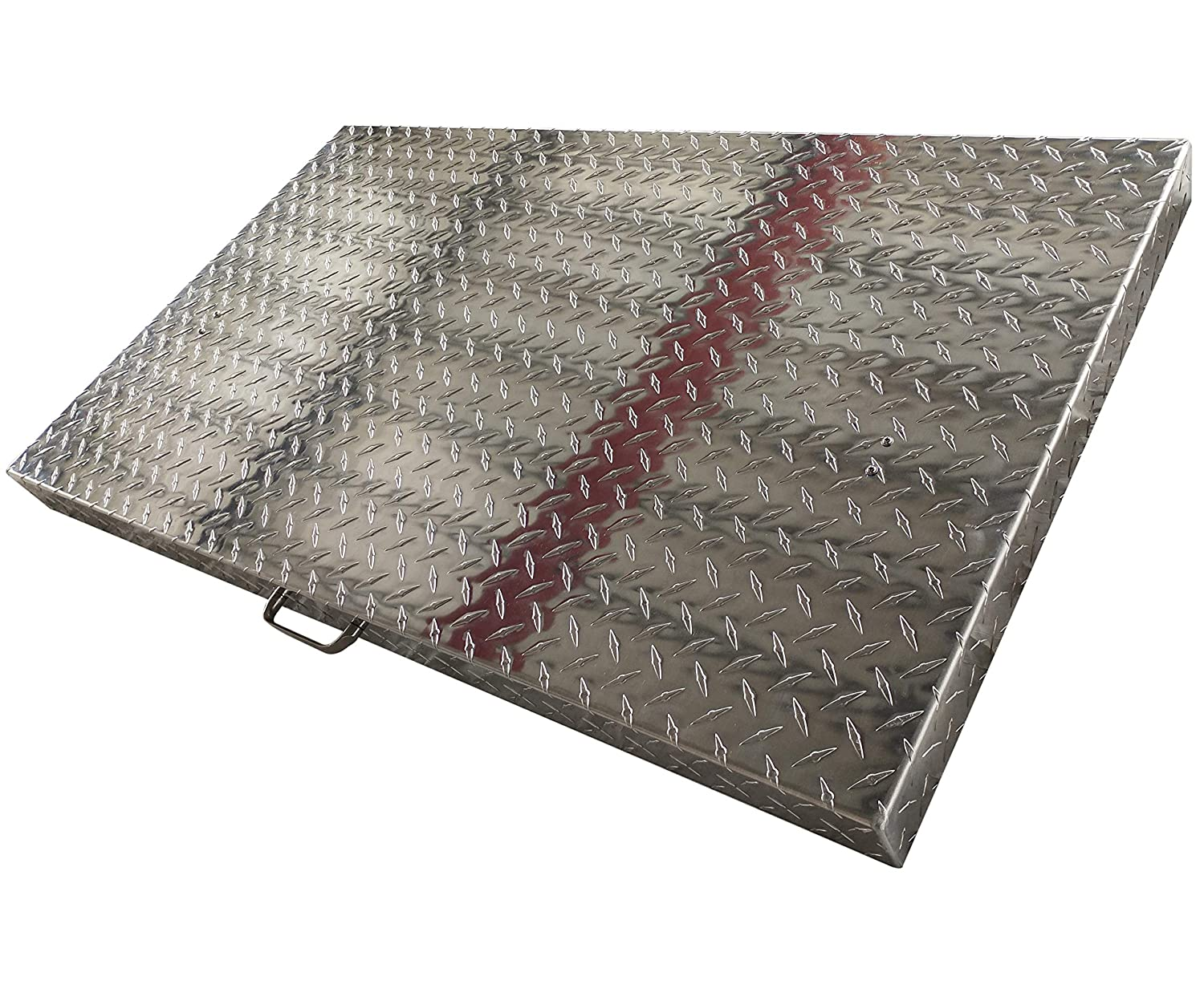 Griddle Cover 36 Inch: for Blackstone Griddle, Blackstone Griddle Cover Accessories, Flat Top Griddle/Grill Cover, Great for Outdoors, use as Tabletop, Diamond Plate Aluminum