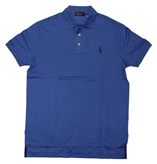 64d0f6513 ... canada ralph lauren polo purple label mens logo short sleeve shirt  italy blue medium 1d2e5 4cede ...