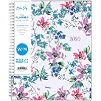 "Blue Sky 2020 Weekly & Monthly Planner, Flexible Cover, Twin-Wire Binding, 8.5"" x 11"", Laila"