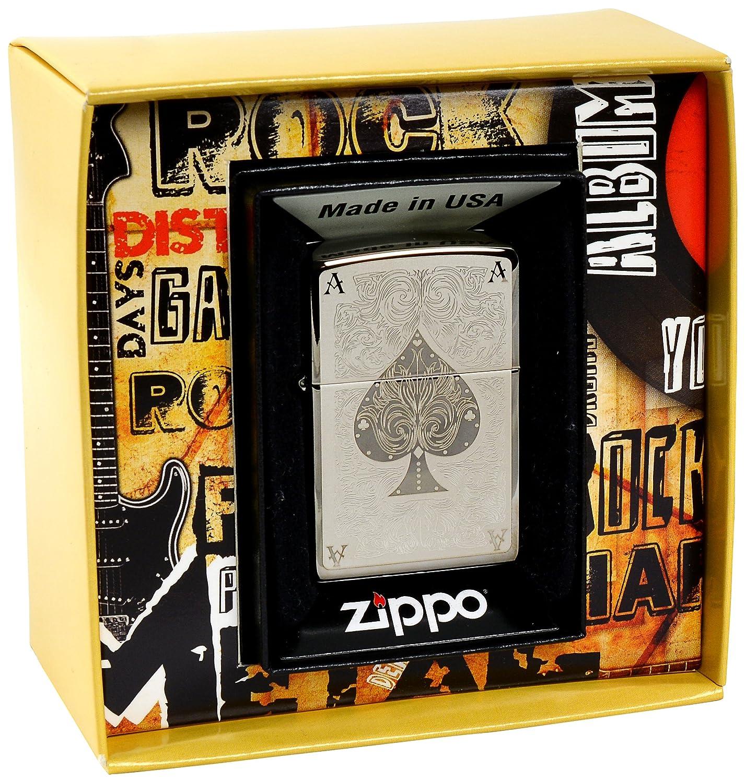 Zippo 2.002.706.1 Feuerzeug Ace Filigree Premium Gift Set Special Edition Spring 2012 schwarz Ice