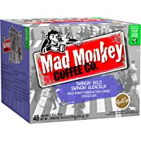 48-Count Mad Monkey Coffee Single Serve RealCup K-Cups (Swingin Bold)