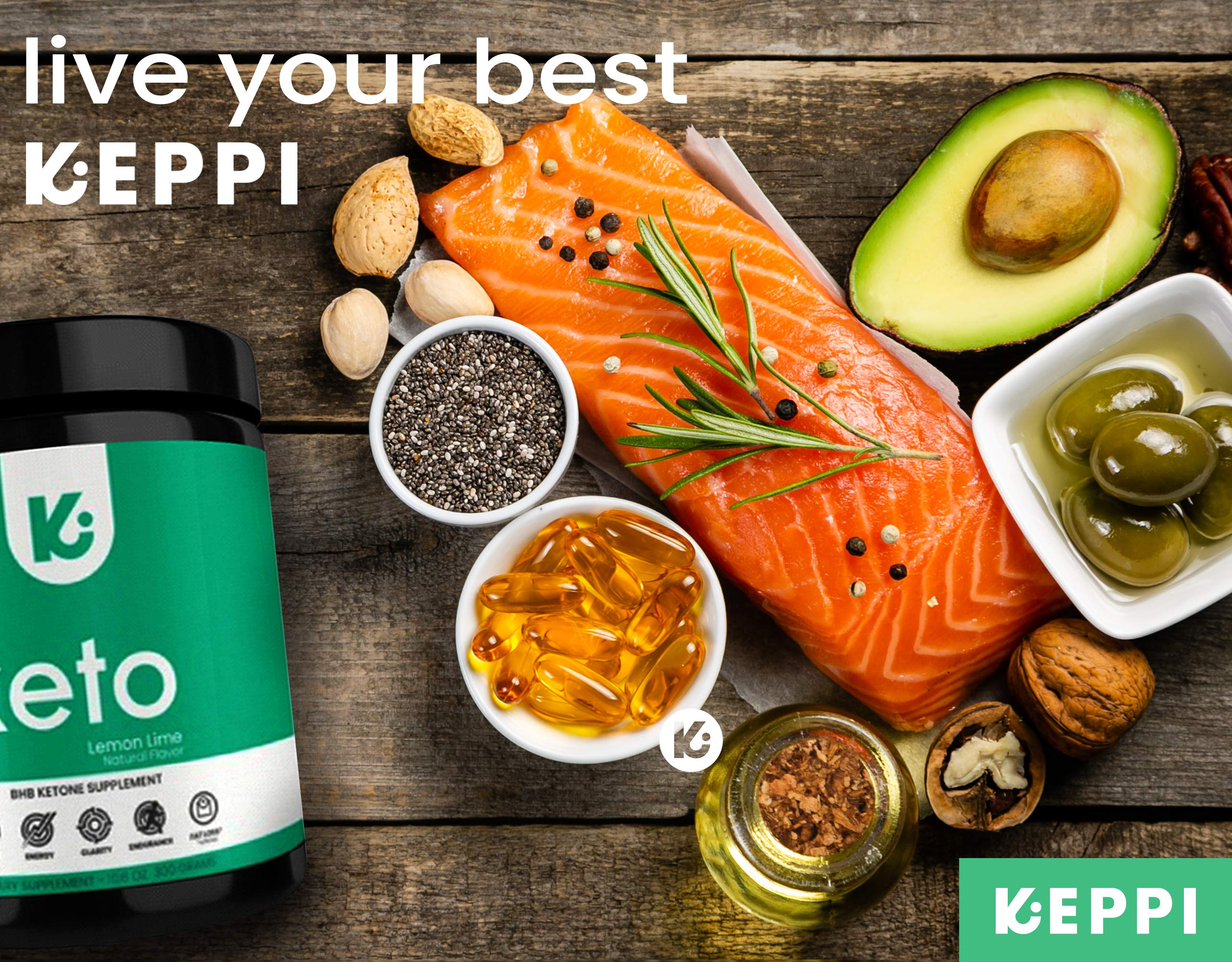 KEPPI Keto Exogenous Ketones Powder Supplement: Patented BHB Salts Formulated to Increase Energy, Burn Fat, Maintain Ketosis and Mental Focus on The Ketogenic Diet by Keppi (Image #9)