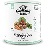 Augason Farms Vegetable Stew Blend Emergency Food Storage 32 oz #10 Can