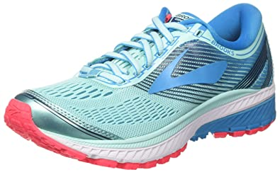 50cda22d55 Brooks Damen Ghost 10 Laufschuhe Türkis (Mint/Blue/pink 1b462) 36 EU