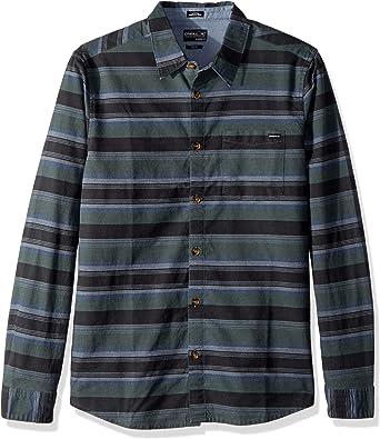 ONEILL Hombre HO7104203 Manga Larga Camisa de Botones - Verde - X-Large: Amazon.es: Ropa y accesorios