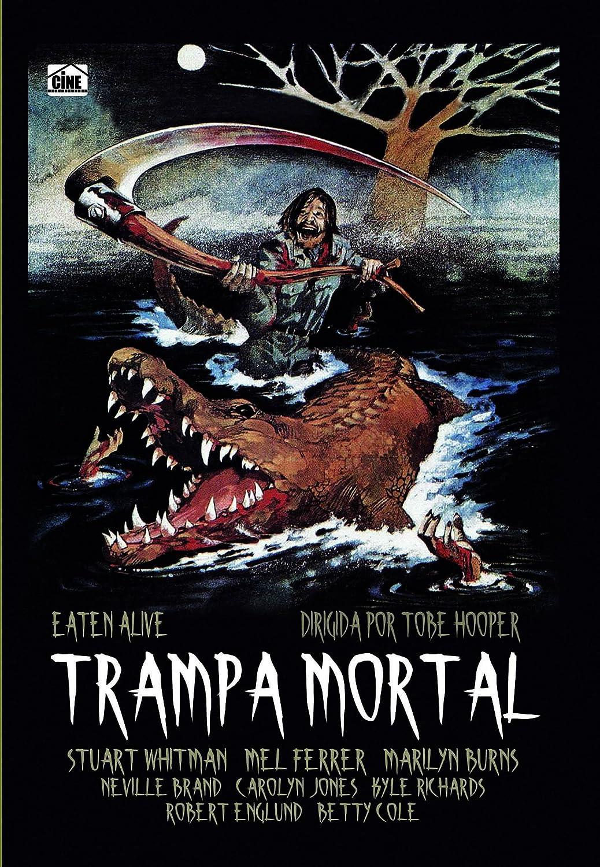 Trampa Mortal [DVD]: Amazon.es: Neville Brand, Mel Ferrer, Carolyn Jones, Marilyn Burns, William Finley, Roberta Collins, Stuart Whitman, Kyle Richards, ...