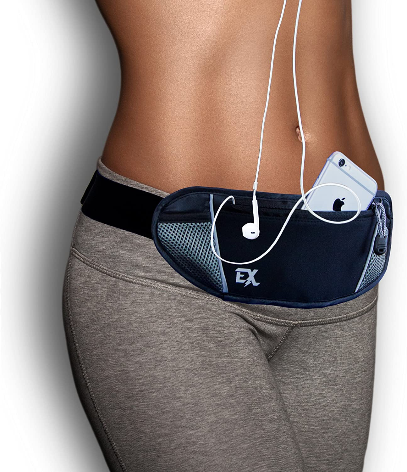 Extreme Gear Running Belt for Phone – Fanny Pack for Running Comfortably Carry Your iPhone 6 7 or Plus with case