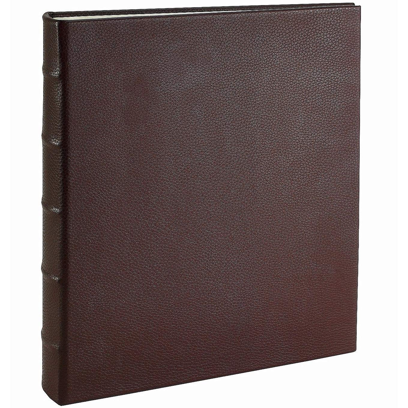 Post Impressions™ System Standard 3-ring Binder unfilled Pebble-Brown Eco-leather - 8.5x11