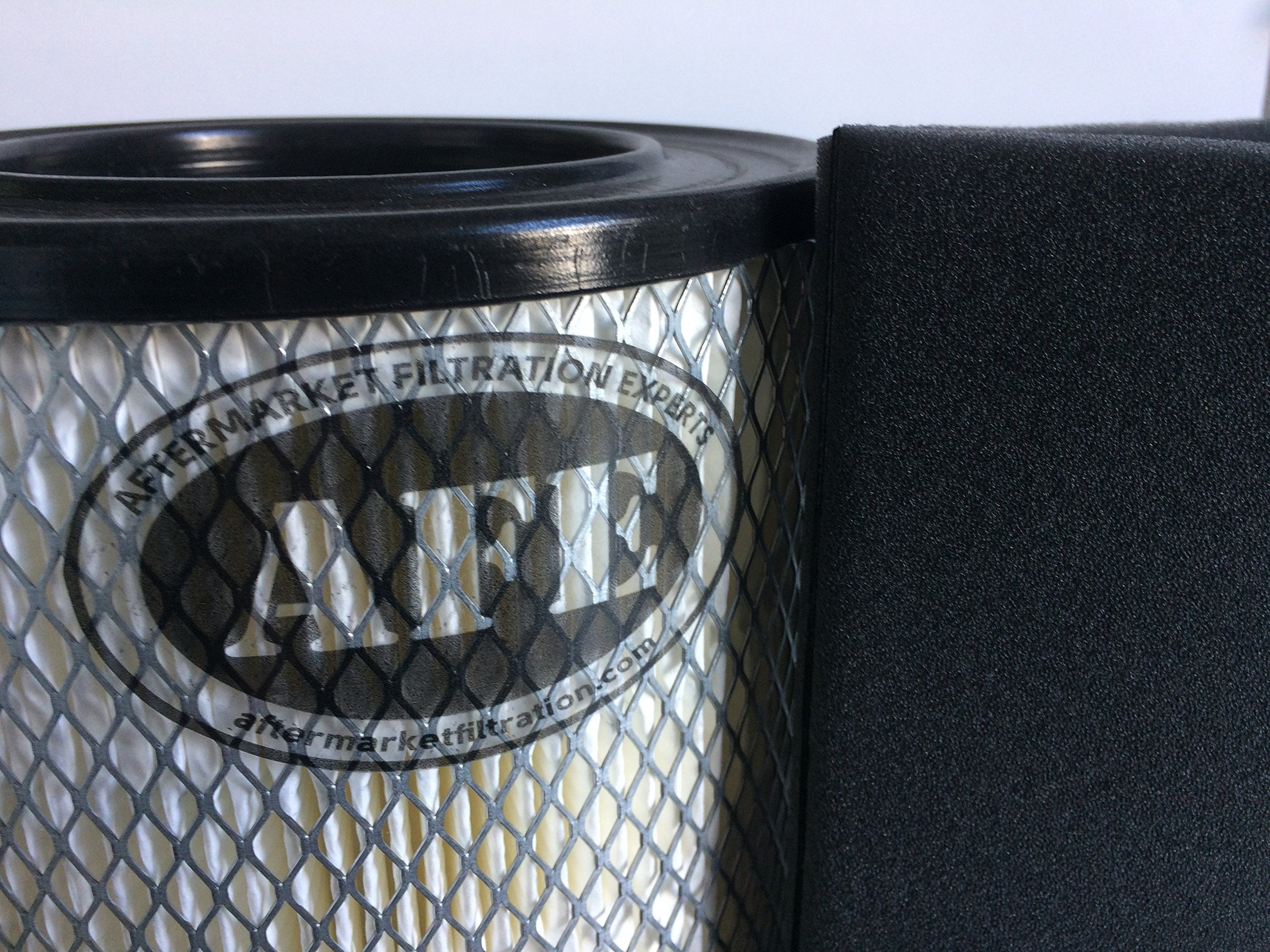 Qty 2 AFE 19P Solberg Direct Replacement, AIR Filter