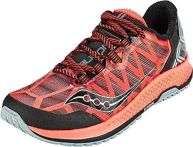 Saucony KOA TR Rojo Negro S20390-35: Amazon.es: Zapatos y complementos