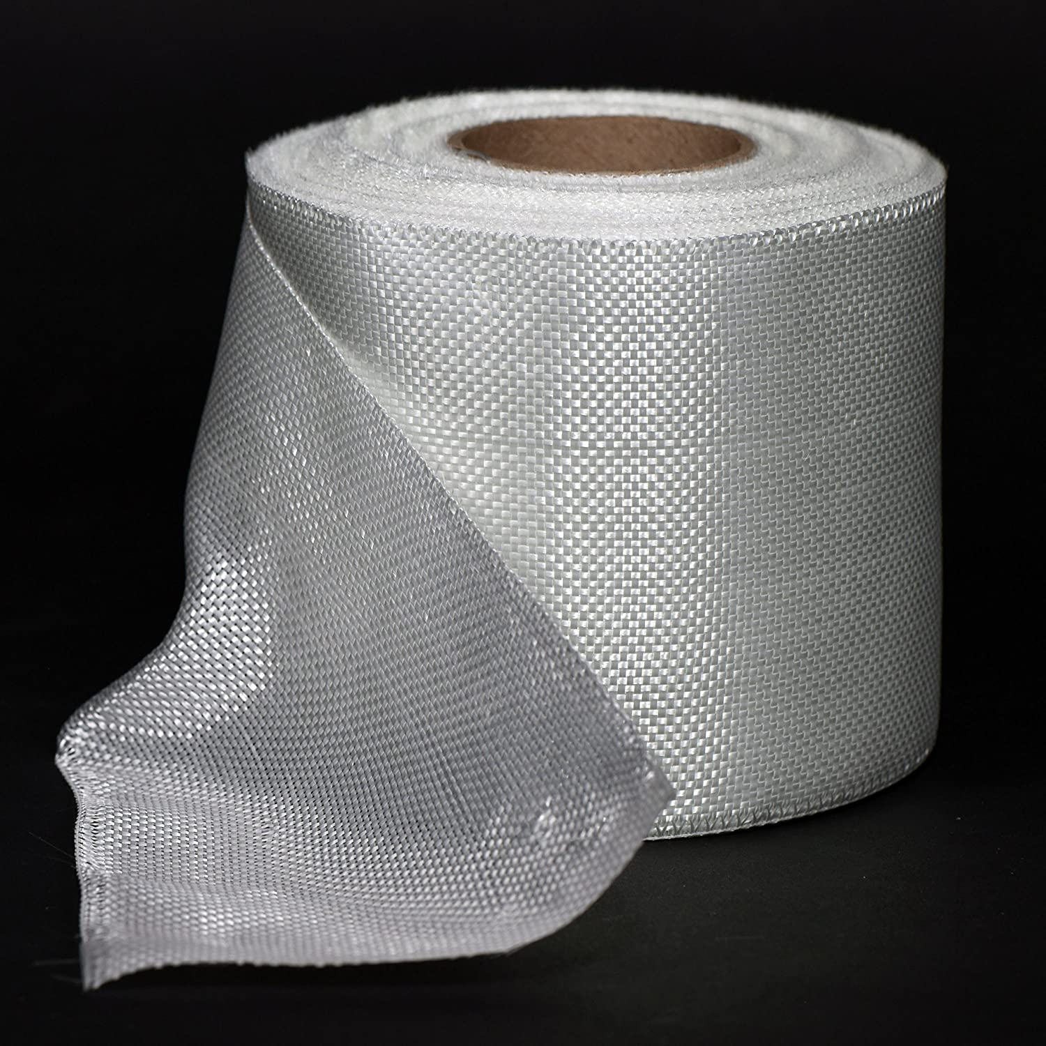 Fiberglass Cloth Tape 6oz 4' Wide by 50 Yards (10.16 cm x 4572 cm) Rayplex Limited