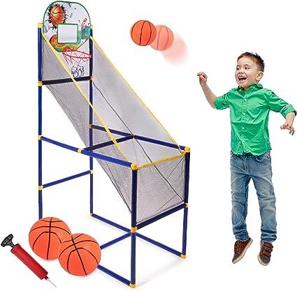 Amazon.com: Juego de baloncesto para niños, sistema de ...