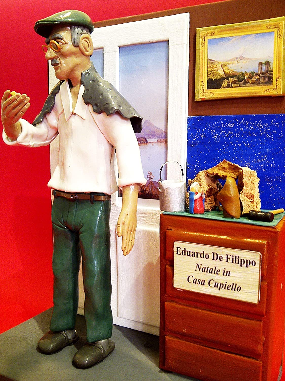 Amazon Com Figurine Action Figures Eduardo De Filippo Diorama Natale In Casa Cupiello Handmade