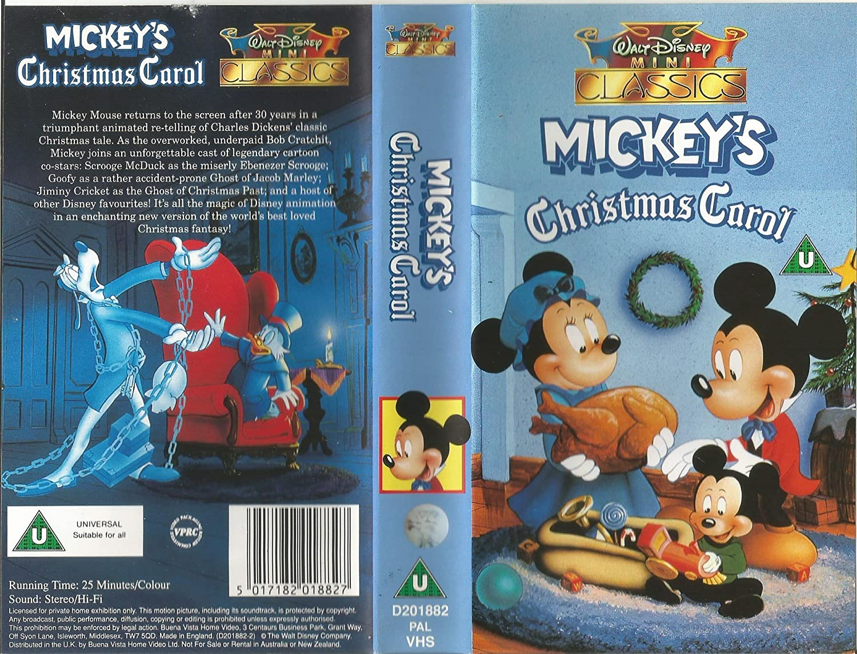 Mickeys Christmas Carol.Mickey S Christmas Carol Vhs Alan Young Wayne Allwine